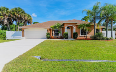 3/2/2 CBS Home in SW Port St Lucie